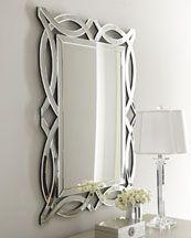 """Horchow """"Miramar"""" Figure-8 Mirror"""