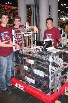 Ossining Robotics Team Turns Heads in St. Louis