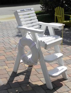 DecoratIve Lifeguard Chairs by BeachWood Designs