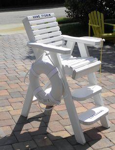 Wonderful DecoratIve Lifeguard Chairs By BeachWood Designs