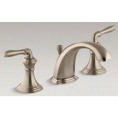 Kohler K-394-4-BV Devonshire Brushed Bronze Bathroom Sink Faucet | PlumbersStock