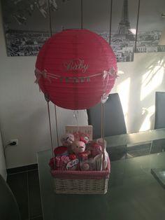 Geschenk Zur Geburt Heissluftballon Baby Geschenk Madchen