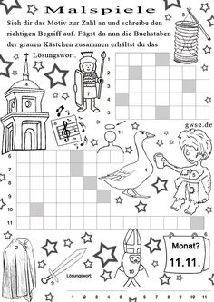 Rätsel für Sankt Martin für Kinder Holiday Outfits Women, Christmas Party Outfits, Coloring Pages For Grown Ups, Coloring Pages For Kids, Hl Martin, Sunday School, Back To School, Merricks Art, Godly Play