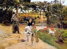 Giovanni Boldini - In the Garden