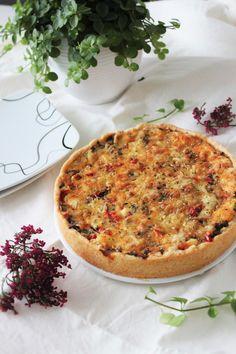 Lähinnä kakkuihin ja muuhun leipomiseen keskittyvä blogi, jossa saattaa silloin tällöin vilahtaa muutakin... Savoury Baking, Vegetable Pizza, Quiche, Good Food, Vegetables, Eat, Breakfast, Morning Coffee, Quiches