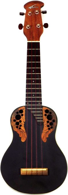 Applause (by Ovation) UA10-5e Roundback soprano with Aquila red strings - becoming rarer now its out of production