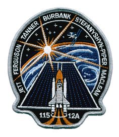 Space Patch Corner - STS-115 normal patch