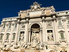Fontana di Trevi in Rome Palazzo, Free Things To Do In Rome, 5 Things, Trevi Fountain Rome, White Building, Sistine Chapel, Beautiful Sites, New Travel, Statue