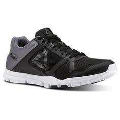 cec8c6b42720b7 Reebok Men s Yourflex Train 10 in Black   Shark   White Size 9 - Training  Shoes