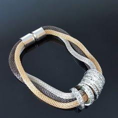 Bracelet+maille+souple,+DH225.00