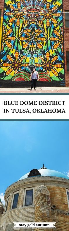 We spent about 24 hours in Tulsa, Oklahoma and now I totally want to go back. The Blue Dome District centers around a route 66 land mark and is a beautiful historic district in Tulsa. We also learned that midwest nice is totally a real thing while visiting!