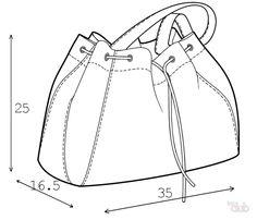 Как сшить дорожную сумку своими руками - выкройка по старой сумке