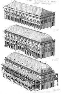 Francesco Corni. Palazzo della Ragione. Padova