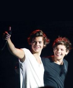 Awe! This an great picture of Louis and Harry(: #BromanceNotRomance