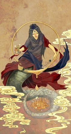 Deusa Tiamat