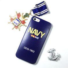 『Navy Blue』海軍藍iPhone 7/ iPhone 6S Plus/ iPhone 6S中台日專利悠遊卡手機殼I AM I 愛恩愛精品設計 聖誕節