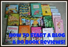 Start Blogging to do Book Reviews--get great free books and curriculum for your homeschool!