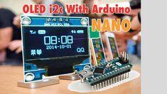 OLED I2C Display With Arduino Nano tutorial