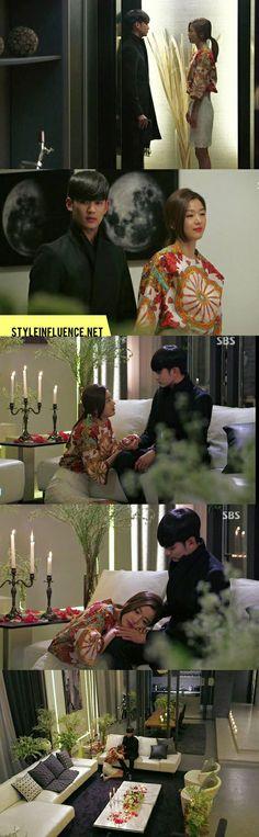kim soo hyun & jun ji hyun / fashion in a man from the stars ♥