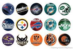 FREE BOTTLE CAP IMAGES - NFL