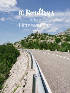 10 Roadtrips für Eure Flitterwochen