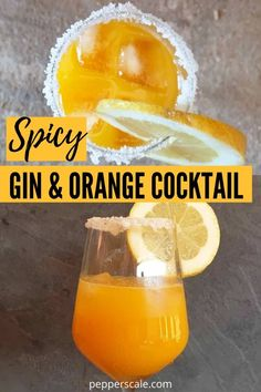 Spicy Gin And Orange Cocktail is a refreshing way to end the night. This cocktail carries a nice little kick of spice in every single sip. Give it a try if you are hosting a party or just want a refreshing alcoholic recipe. Spicy Appetizers, Appetizer Recipes, Chipotle Recipes, Alcohol Recipes, Drinks Alcohol, Orange Cocktail, Chicken Wings Spicy, Stuffed Hot Peppers, Sweet And Spicy
