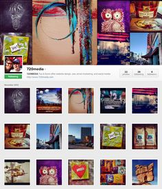 Instagram has new web profile pages! Check out 720MEDIA http://instagram.com/720media