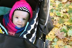 Lähiömutsi: Vauvan makuupussin päällystäminen