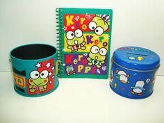Vintage Sanrio Keroppi and Pekkle Mini Banks and by aminaaly, $6.00