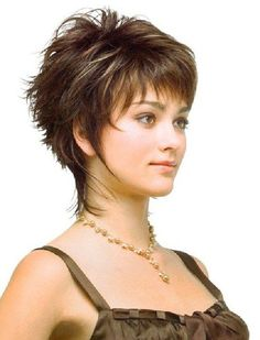 short hairstyles for fine hair and round face