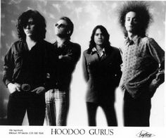 Australian band The Hoodoo Gurus