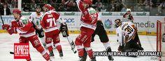 Der #KEC steht im Finale der #DEL Playoffs. #Eishockey #Koeln