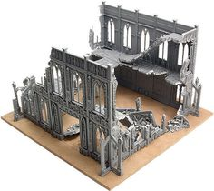 Today we'll tell you how to use modular terrain based on standard Games Workshop buildings. Warhammer 40k Tabletop, Warhammer Paint, Warhammer Terrain, 40k Terrain, Game Terrain, Wargaming Terrain, Warhammer 40000, Apocalypse Aesthetic, Game Storage
