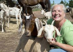 USA story about meat goat producer.  #goatvet hopes her goats are free of CAE and Johne's disease, which are more common in dairy goats.