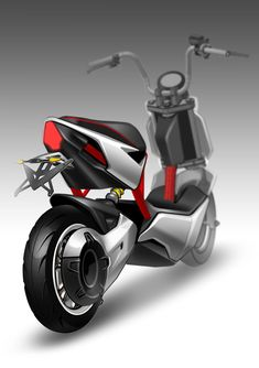 New Yadea X-men electric scooter at Asia Bike Trade Show 2013 Scooter Design, Motorbike Design, Automotive Design, Auto Design, Best Electric Scooter, Bike Sketch, Concept Motorcycles, Scooter Bike, Retro Motorcycle