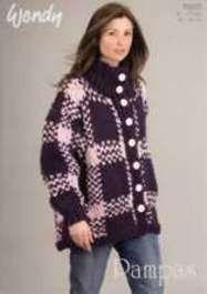 Wendy Pampas knitting pattern 5563