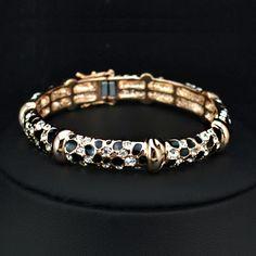Leopard Bangle Bracelet