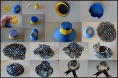 Miniature hat picture tutorial  - #diy, #hat, #miniature