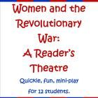 """This mini-play (2 pages) is a perfect quick addition to your """"Women's Roles in the Revolutionary War"""" lessons.  There are 11 roles for girls, inclu..."""