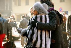 Stripe love in Milan, Italy