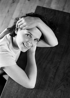 Juliette Binoche by Marion Stalens 1996