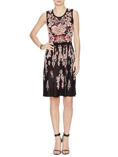 Clover Jacquard Sleeveless Dress by Temperley London at Gilt