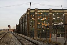 detroit factories | One of the Abandoned Factories That Ring Detroit