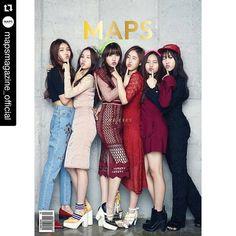 #여자친구 #GFRIEND #mapsmagazine #covergirl