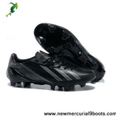 Cheap adidas adizero Metallic TRX FG Leather - Black Gray Soccer Boots On Sale All Nike Shoes, Nike Boots, New Shoes, Adidas Shoes, Sports Shoes, Cheap Football Boots, Football Shoes, Nike Football, Adidas Soccer Boots