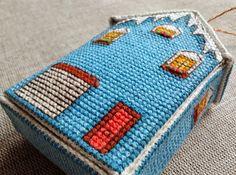 Winter House - Cross Stitch