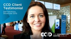 Travelling to 17 cities in Europe, the Middle East and Africa, the Dell Solutions Showcase 2015 made the first stop of its annual roadshow at The Convention Centre Dublin. Hear what Lisa Holmes, Marketing Manager of Dell Ireland, had to say about her experience at The CCD.