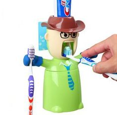 Funny Kids Toothbrush Dispenser Toothbrush Holder for Colgate ...