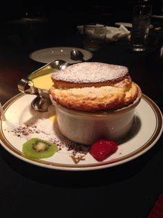 Soufflé at Arroyo Chop House, Pasadena CA