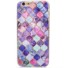 Shades Of Purple iPhone 6/6S Case Shades of purple rubber silicone case for iPhone 6/6S Accessories Phone Cases